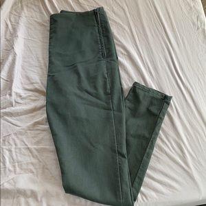 H&M Dark Olive Pants